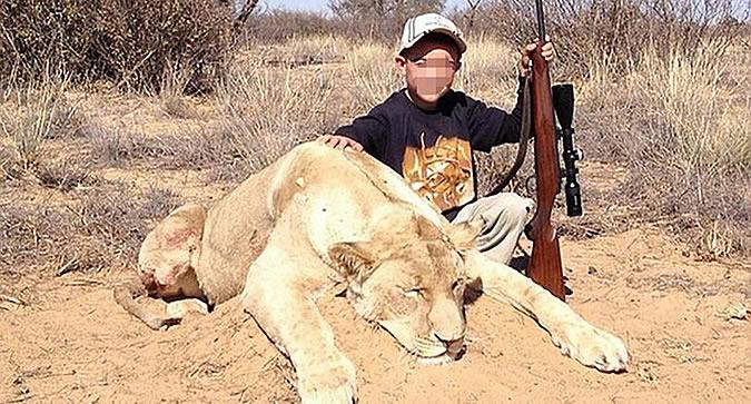дети убившие льва
